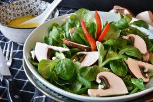 salade-mache-champignons